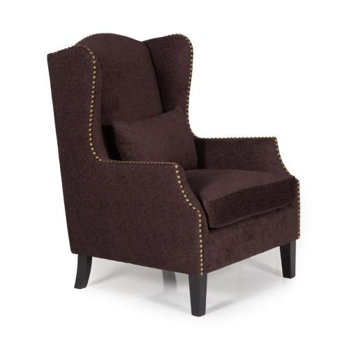 Ocassional Stirling Aubergine Occasional Chair